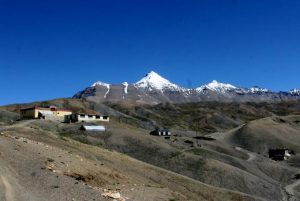 A village in Spiti. Lahaul Spiti Travel Guide